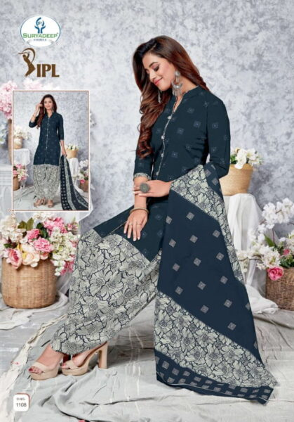 IPL vol 11 Cotton Print Dress Materials wholesalers