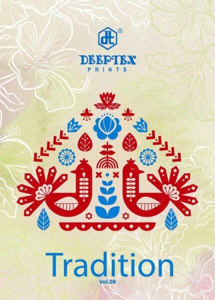 Deeptex Tradition vol 8 Dress Materials wholesalers
