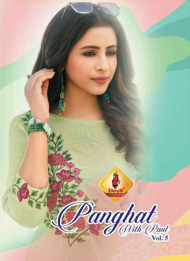 Shruti Panghat vol 5 Kurtis with Pants wholesalers