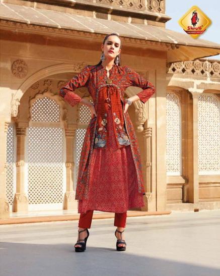 Shruti Rangrezz Designer Kurtis wholesalers