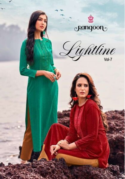 Lightline by Rangoon Silk Kurtis wholesalers