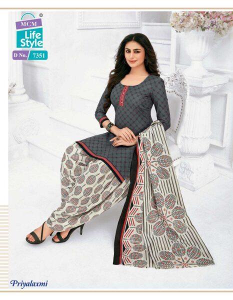 MCM Priyalaxmi vol 20 Cotton print Dress Materials