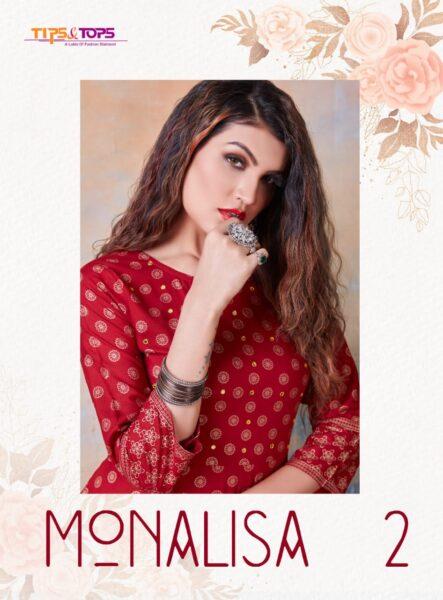 Monalisa vol 2 Gown Kurtis wholesalers