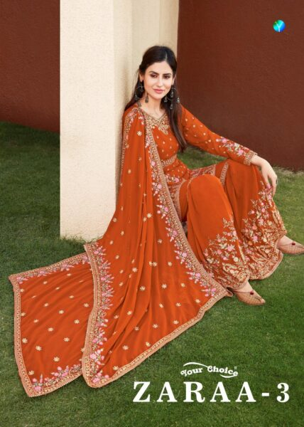 Zaraa vol 3 Ramadan special Designer Dress materials