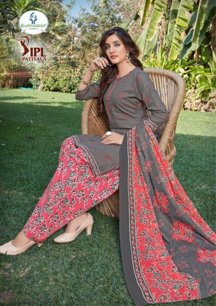 IPL Patiyala vol 10 Cotton Print Dress Materials wholesalers
