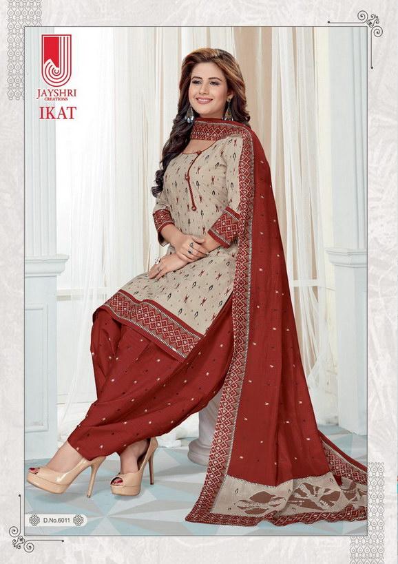 Jayshri Ikkat vol 1 Cotton Dress Materials wholesalers