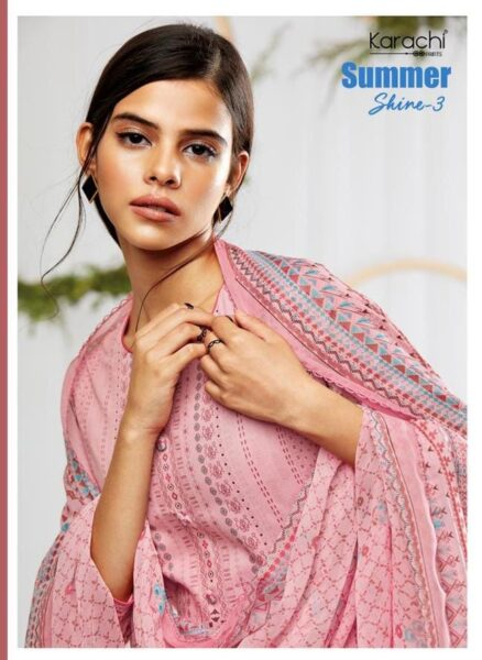 Karachi Summer shine vol 3 Dress Materials wholesalers