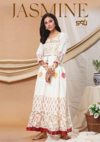 S4U Jasmine Gown Kurtis wholesalers