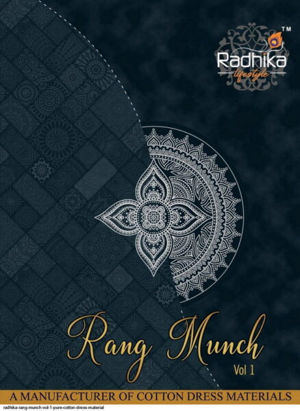 Radhika Rung Munch vol 1 Cotton Dress Materials wholesaler