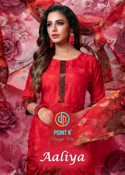 Deeptex Aaliya Readymade rayon Patiyala Dress wholesaler