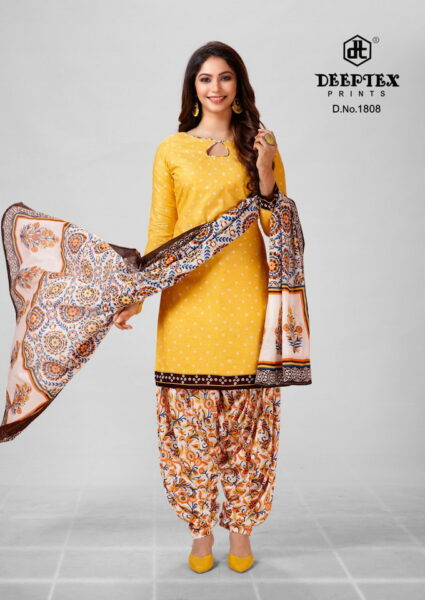 Deeptex Pichkary vol 18 Cotton Dress Materials
