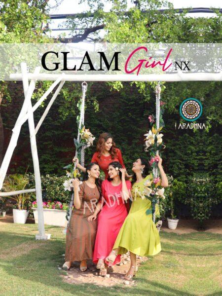 Glam Girl Nx Frock style Rayon Kurtis wholesaler