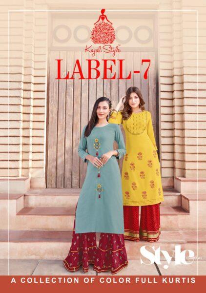 Kajal Fashion Label vol 7 Kurtas with Bottom wholesalers