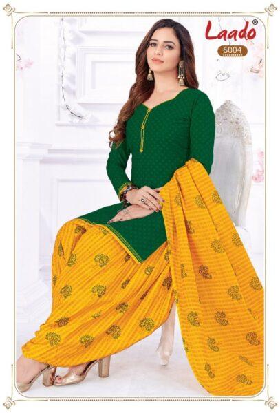Laado Priti Patiyala 6 Dress Materials Wholesalers