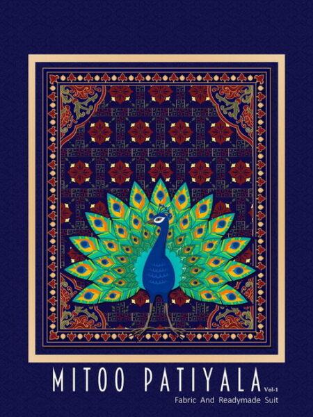 Mitoo Patiyala vol 1 Patiyala Dress Materials wholesalers