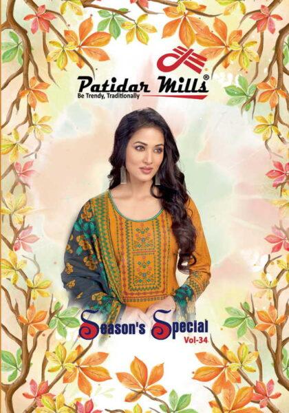 Patidar season special vol 34 Dress Materials wholesale