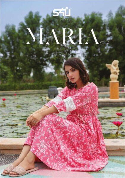 S4U Maria vol 2 Frock style Kurtis wholesalers