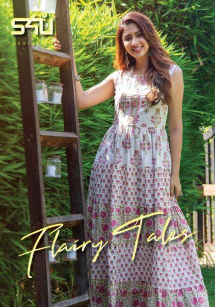 S4U Flairy Tales Frock style Kurtis wholesalers