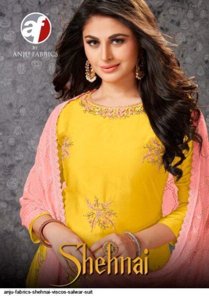 AF Shehnai Designer Salwar suits wholesalers