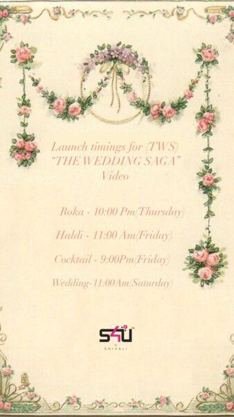 S4U shivali Wedding Saga Catalog