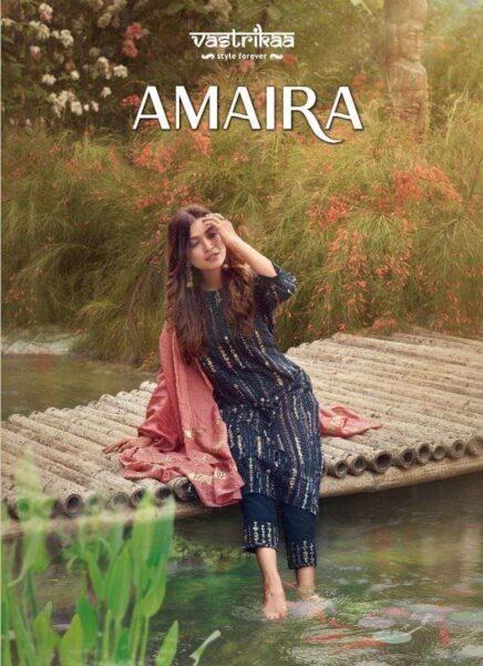 Vastrika Amaira Designer Readymade Suits wholesalers