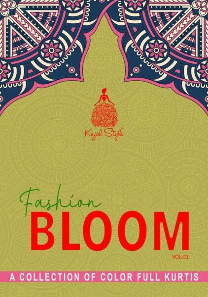 Kajal Fashion Bloom vol 1 Kurtis with Bottom wholesale